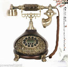 #3 European Antique Resin Copper Vintage Collectables Gifts Corded Telephone