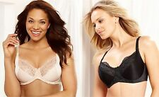 Lilyette Bra Enchantment Full-Figure Back Smoothing Underwire 3 Section Cup 0471