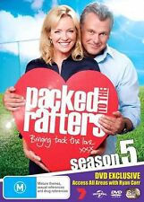Packed To The Rafters : Season 5 - DVD Region 4 Brand New Free Shipping