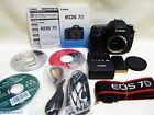 CANON EOS 7D 18.0 MP Digital SLR Camera - Black (Body only),Near Mint Condition