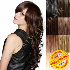 New Micro Bead Remy Human Hair Extensions I Tip Extra Thick Black Blonde Brown