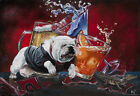 "University of Georgia Bulldogs Football ""'Tail Party"" UGA artwork print Dawgs"