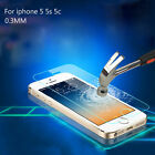 0.3mm Premium Real Tempered Glass Film Guard Screen Protector For iPhone 5/5S/5C