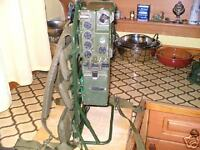 CLANSMAN MILITARY PRC351 VHF MANPACK in WORKING ORDER