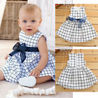 2014 Brand New Comfortable Baby 0-3 Years Toddler Girl Kids Top Plaids Dress