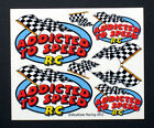 Detail Decals for RC Cars, Sprints, Late Models, Stock Cars, Dirt Oval