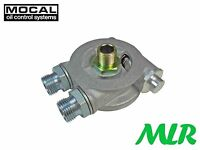 MOCAL 3/4UNF OIL COOLER TAKE OFF PLATE THERMOSTAT SIERRA ESCORT COSWORTH SRK2