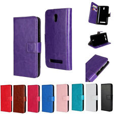 Luxury PU Leather Magnetic Flip Wallet Case Cover Card Holder for HTC Desire 500