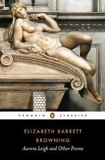 NEW Aurora Leigh and Other Poems by Elizabeth Barrett Browning Paperback Book (E
