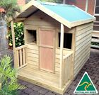 "THE ""RUBY"" OUTDOOR WOODEN TIMBER KIDS CUBBY HOUSE AUSTRALIAN MADE & QUALITY"