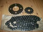 SUZUKI LT80 KAWASAKI KFX80 LT KFX 80 PERFORMANCE REPLACEMENT CHAIN,SPROCKETS KIT