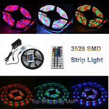 Waterproof Bobina Stricia 3528 SMD Luci A LED RGB Strip Light 16 Colori 5/10/15M