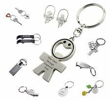 Keyring Key Chain - Engraved Personalised Gift Ideas - Perfect Birtday Gift