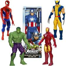 "Spiderman Ironman Captain America Wolverine Hulk Marvel 30CM 12"" Action Figures"