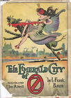 THE EMERALD CITY OF OZ-L.FRANK BAUM-W/DJ-BEAUTIFUL COLLECTOR'S BOOK-NICE GIFT!