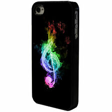 COLOURFUL MUSIC NOTE - MUSICAL  - IPHONE - MOBILE PHONE CASE COVER