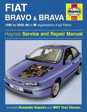 NEW Fiat Bravo and Brava (1995-2000) Service and Repair Manual by A.K. Legg Hard