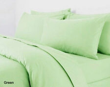 Plain Dyed Duvet Cover Mint Green With Pillow Cases, Single, Double, King & Sk