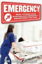 NEW Emergency by Simon Judkins Paperback Book Free Shipping
