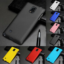 NEW SLIM Matte Plastic Hard Back Cover Case For Samsung Galaxy S5 S4 Note 4 3