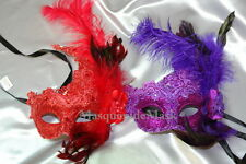 Lace Masquerade Mask Burlesque costume birthday dress prom theme bachelor party