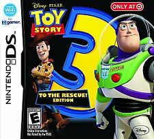 Toy Story 3: The Video Game (To The Rescue Edition) (Nintendo DS, 2010) *New*