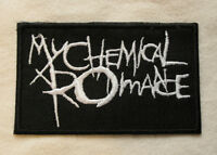 My Chemical Romance Iron On/Sew On Patch Emo Goth Punk Rock