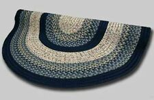 New Englands Best Beantown Country Home Oval Braided Rug Charles River Blue #23