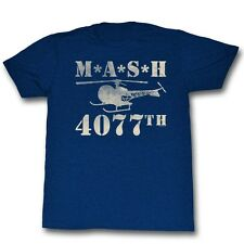 MASH 4077th Heli T-Shirt **NEW Helicopter Incoming M*A*S*H*