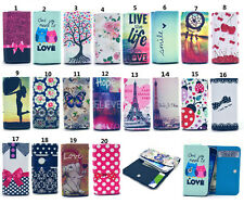 Wallet Pouch Printed PU Leather slot Card Flip Cover TY3 Case For Samsung/Nokia