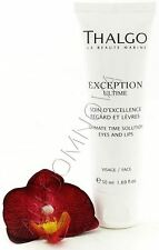 Thalgo Exception Ultime Ultimate Time Solution Eyes and Lips 50ml Salon Size