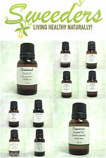 Essential Oils 15ml - Pure Therapeutic Grade Oils Showing Oils From D-L