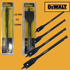 DEWALT EXTREME FLAT DRILL BIT FOR WOOD 10, 12, 14, 16, 20, 22, 25 AND 32 MM