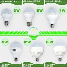 Led Light Bulb SMD 5730 E14 E27 3W 5W 7W 9W 12W 15W 18W LED Lamp 220V Cold Warm