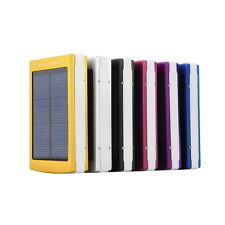 80000mAh Dual USB Portable Solar Battery Charger Power Bank For Cell Phone