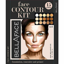Face Cream Contour Kit Concealer Palette Highlighter Makeup Set With Brush