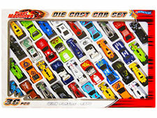 Brand New 36 Pcs Die Cast F1 Racing Car Vehicle Play Set Cars Kids Boys Toy 1593