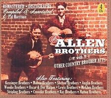 Allen Brothers With Other Country Brother Acts - Allen Brothers New & Sealed CD-