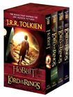 Lord of the Rings 1-3 & Hobbit (mm,pb) by J R Tolkien  NEW Box Set