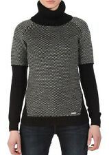 BENCH LEADPLAY WOMENS ROLL NECK JUMPER WINTER