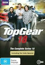 Top Gear: Series 18 - Including the India Special - DVD Region 4 Brand New Free