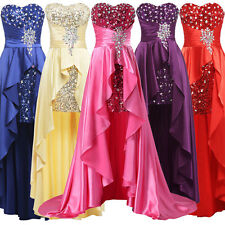 CHEAP Formal Evening Gowns Bridesmaids Wedding Masquerade Long Prom Dresses Plus