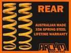"FORD FALCON FG XR6 SEDAN REAR ""LOW"" 30mm LOWERED COIL KING SPRINGS"