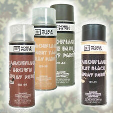 BLP Mobile Paints Camouflage Spray Paint Can 10 Ounce - USA Made, High Quality