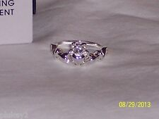 AVON CLADDAGH RING WITH CUBIC ZIRCONIA ACCENTS-NEW IN BOX-FREE US SHIPPING
