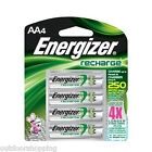 ENERGIZER RECHARGE AA4 BATTERIES - 4X Longer, Charge Up To 250 More Times