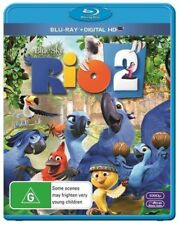 Rio 2 (blu-ray/uv) - BLR Region B Brand New Free Shipping