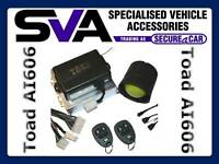 TOAD AI606 Good Cat 1 Car/van Alarm VSIB Approved fitted Vauxhall Vivaro