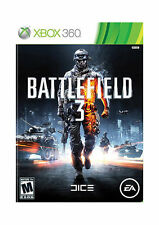 Battlefield 3 III Original Printed Cover Xbox 360 ***Brand New Factory Sealed***