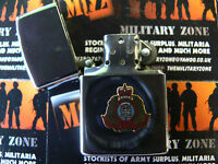 Army Military Regimental Lighter With Suffolk Regiment On Front